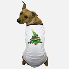 Merry Christmas Tree - Dog T-Shirt