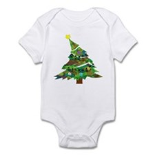 Merry Christmas Tree - Onesie