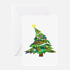 Merry Christmas Tree - Greeting Card