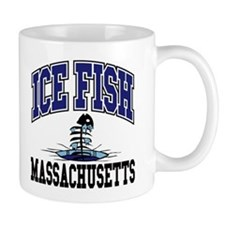 Ice Fish Massachusetts Mug