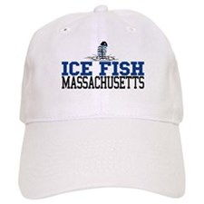Ice Fish Massachusetts Baseball Cap