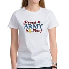 Army Aunt (collage) Tee