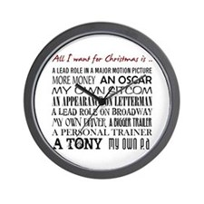All I Want ... Wall Clock