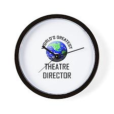 World's Greatest THEATRE DIRECTOR Wall Clock
