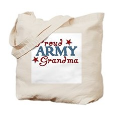 Army Grandma (collage) Tote Bag