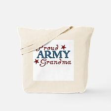 Army Grandma (collage) Tote Bag