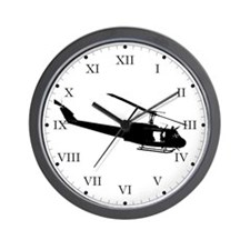Chopper Slick Wall Clock