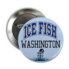 "Ice Fish Washington 2.25"" Button (10 pack)"