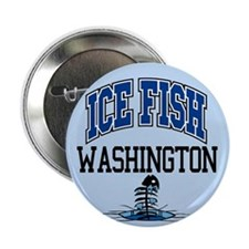 "Ice Fish Washington 2.25"" Button"