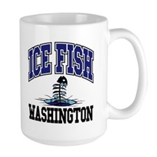 Ice Fish Washington Mug