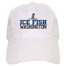 Ice Fish Washington Baseball Cap