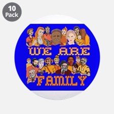 """We Are Family 3.5"""" Button (10 pack)"""