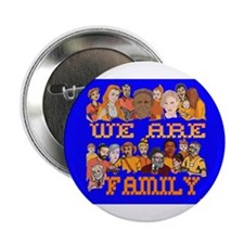 """We Are Family 2.25"""" Button"""