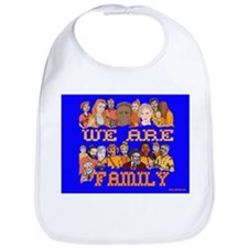 We Are Family Bib