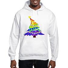 GLBT Merry Christmas Tree - Hoodie