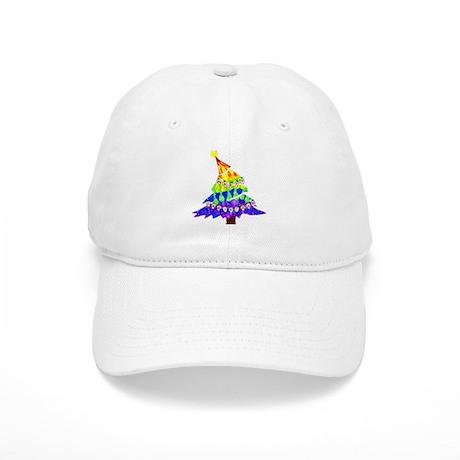 GLBT Merry Christmas Tree - Cap