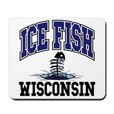 Ice Fish Wisconsin Mousepad
