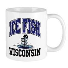Ice Fish Wisconsin Mug