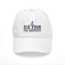 Ice Fish New Hampshire Baseball Cap