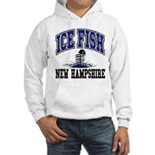 Ice Fish New Hampshire Hoodie