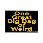 Bag of Weird Rectangle Magnet (10 pack)