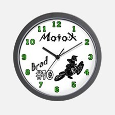 Brad's Motocross Wall Clock