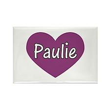 Paulie Rectangle Magnet