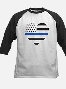 Blue Lives Matter Heart Tee