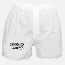 Off Duty Kindergarten Teacher Boxer Shorts