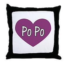 Po Po Throw Pillow