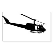 Chopper Slick Rectangle Decal