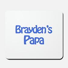 Brayden's Papa Mousepad
