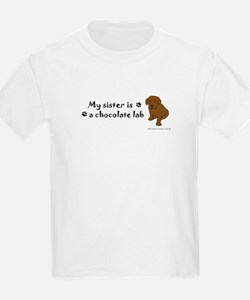 chocolate lab gifts T-Shirt