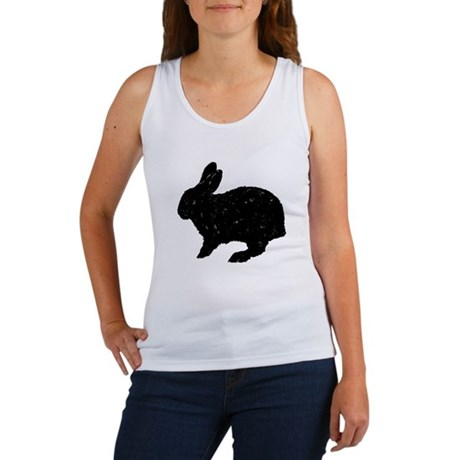 Black Rabbit Women's Tank Top