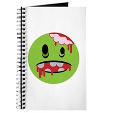 unhappy undead zombie smiley Journal