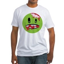 unhappy undead zombie smiley Shirt