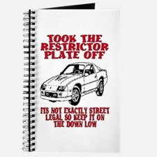 RESTRICTOR PLATE OFF.. Journal