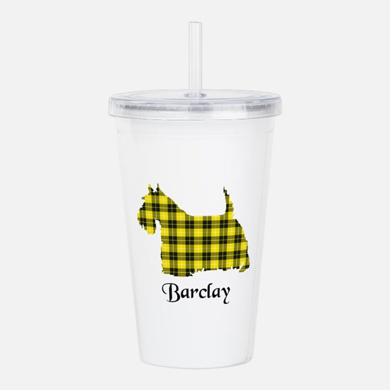 Terrier - Barclay dres Acrylic Double-wall Tumbler