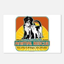 Animal Rescue Dog and Cat Postcards (Package of 8)
