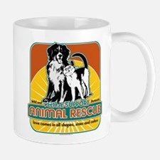Animal Rescue Dog and Cat Mug