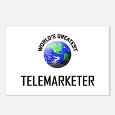 World's Greatest TELEMARKETER Postcards (Package o