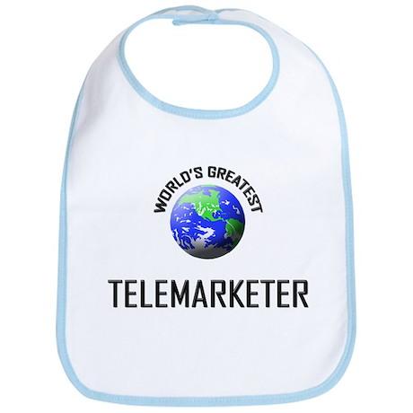 World's Greatest TELEMARKETER Bib