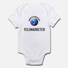 World's Greatest TELEMARKETER Infant Bodysuit