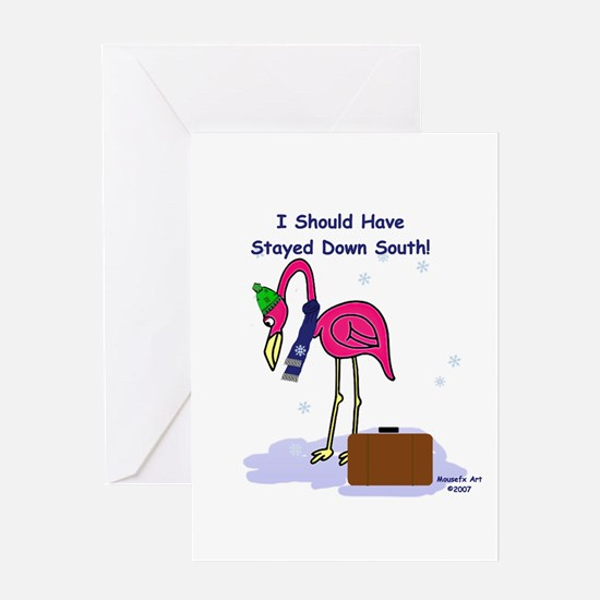 Stayed South Greeting Card