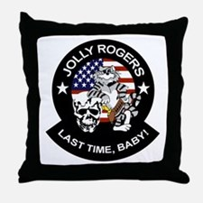 VF-84 Jolly Rogers Throw Pillow