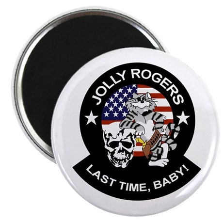 """VF-84 Jolly Rogers 2.25"""" Magnet (10 pack)"""