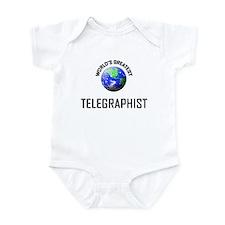 World's Greatest TELEGRAPHIST Infant Bodysuit