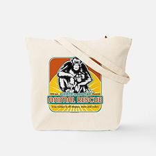 Animal Rescue Chimpanzee Tote Bag