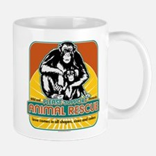 Animal Rescue Chimpanzee Mug