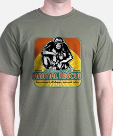 Animal Rescue Chimpanzee T-Shirt